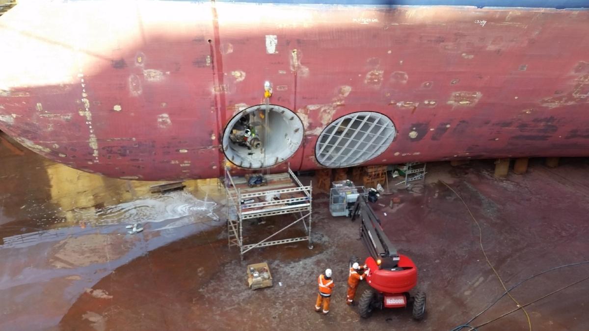 thruster maintenance stavanger