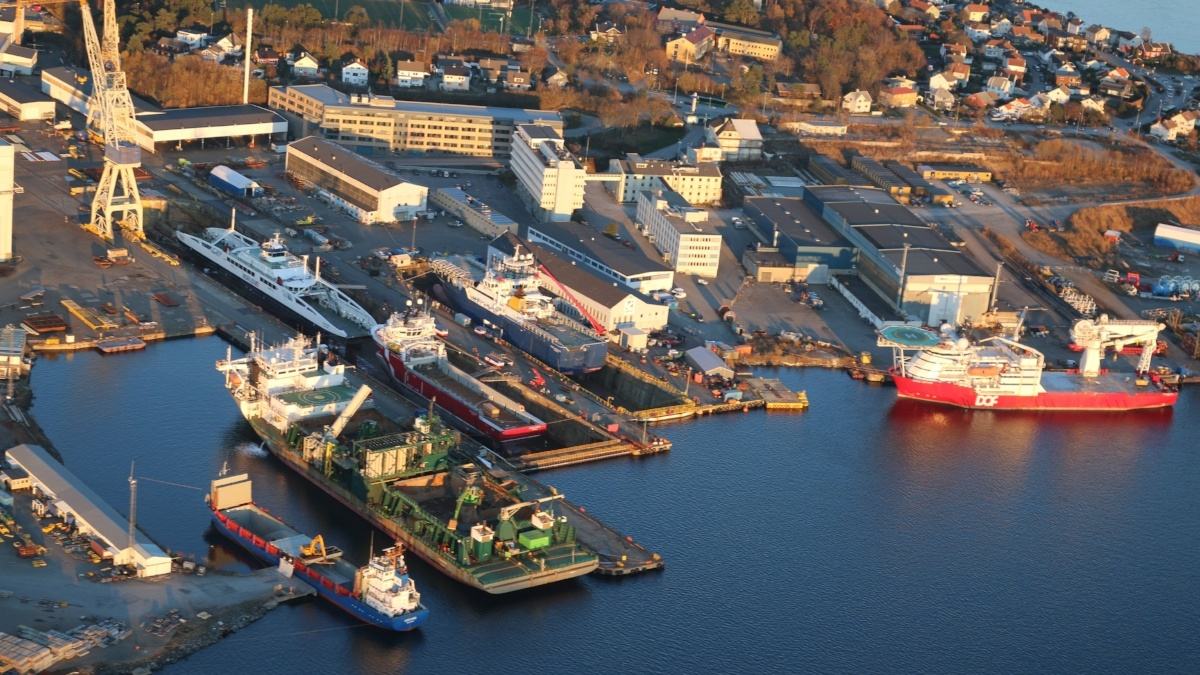 capacity at the shipyard is crucial